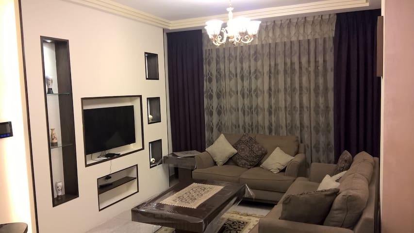 furnished apartment  location Abdun, Amman Jordan