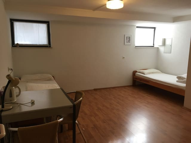 Rooms 30 min. from Messe Frankfurt or Fairground