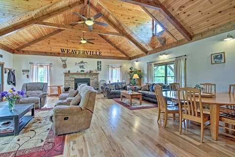 Taylorsville House on 50 Private Acres w/ 6 Cabins