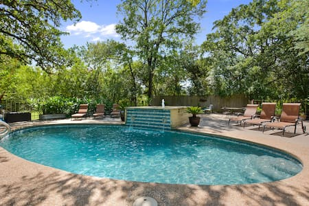 Austin Oasis- Spacious HM-Pool/Patio/Spa/Fire Pit