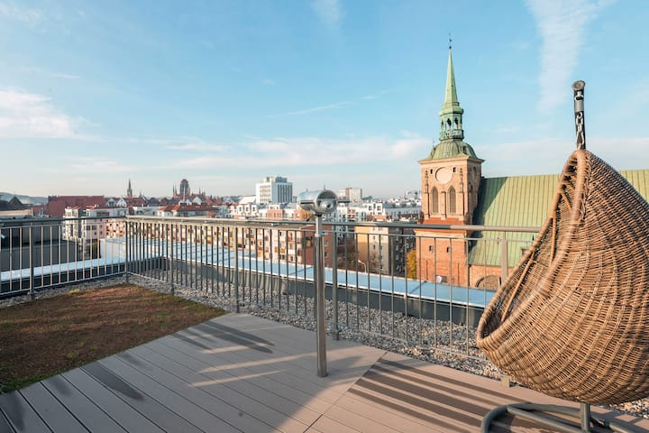 Rooftop Garden Terrace Apartment