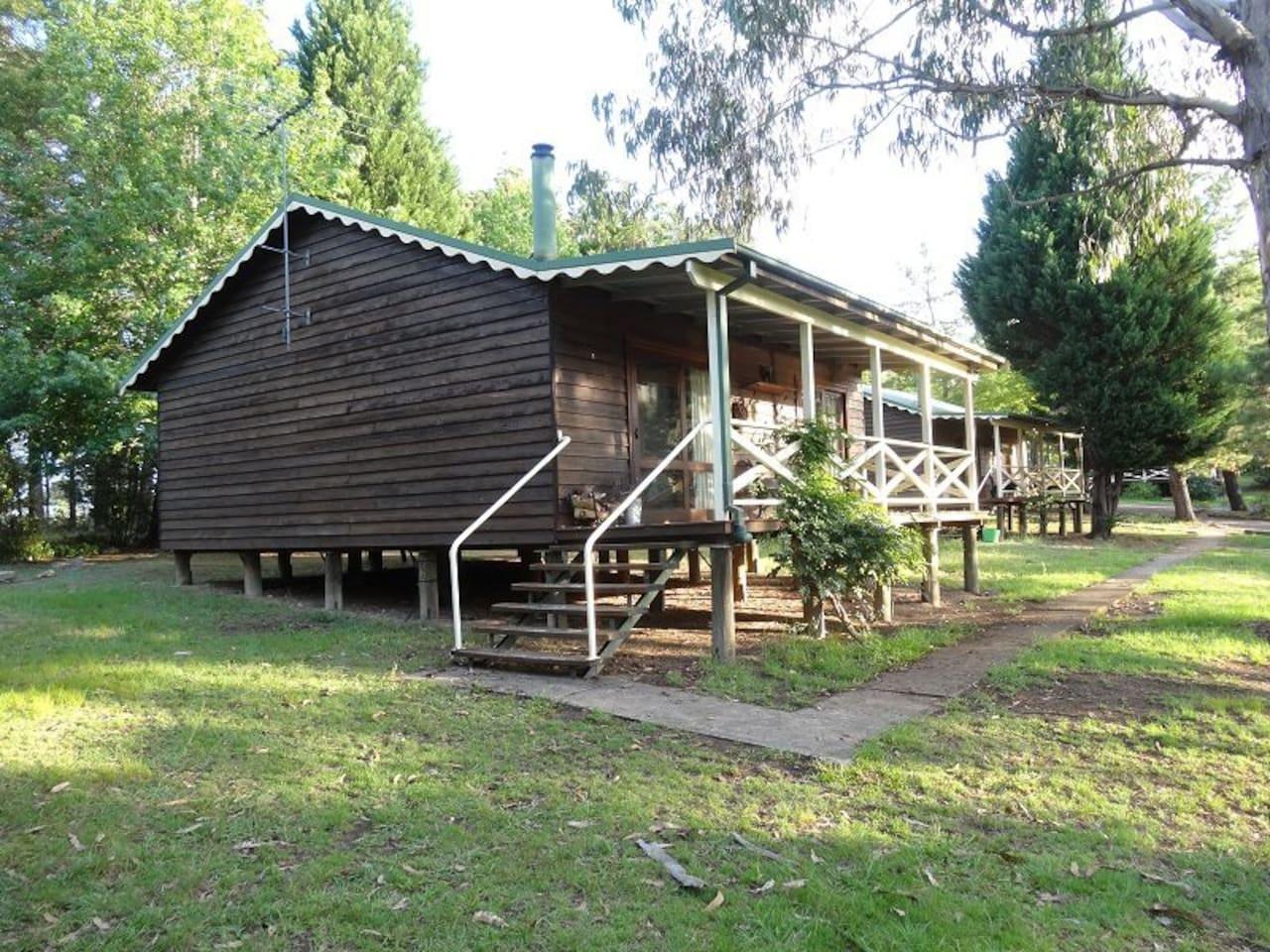 Cabin exterior 1