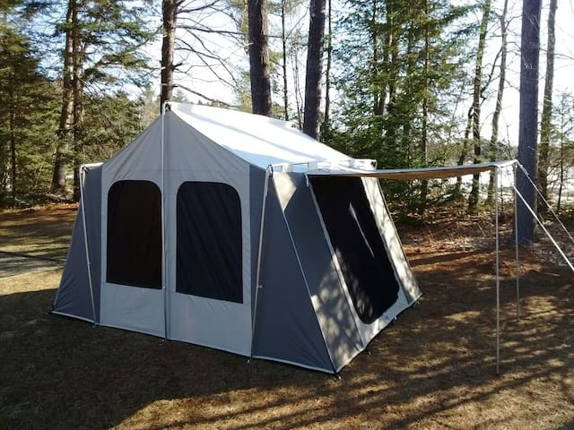 Take Me Tenting - North Yarmouth - กระท่อม