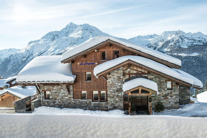 Chalet le Crystal 4 pers