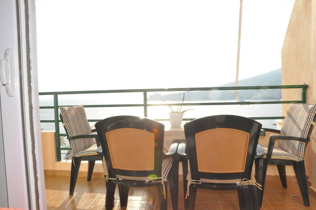 sea view balconies