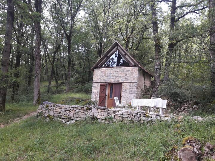 Causse Cajarc chambre-grangette au coeur des bois