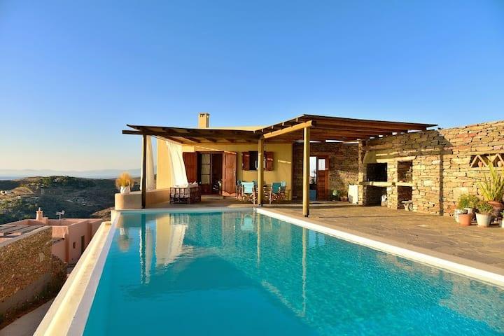 Artistic Villa in Cyclades - Kea
