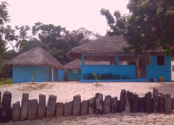 Campement Le Lamantin Pointe St Georges, Casamance