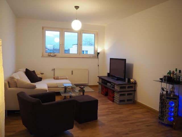 Gemütliche, großzügige Wohnung mit Dachterasse - Köln - Apartment