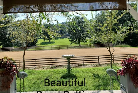 Quiet Country Setting in an Equine Facility