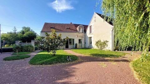 Joli studio au cœur des châteaux de la Loire