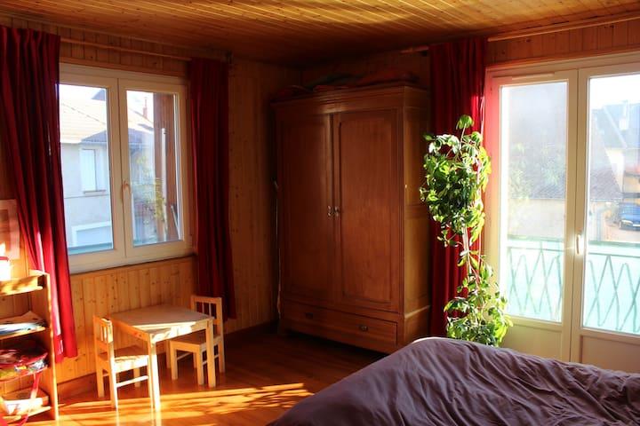 Chambre dans coeur de village proche Gap - La Bâtie-Neuve - Apartment