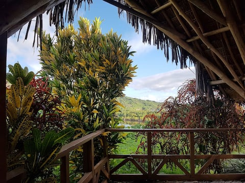 Bungalow 2 with sea views @Islamd Tanna Dream