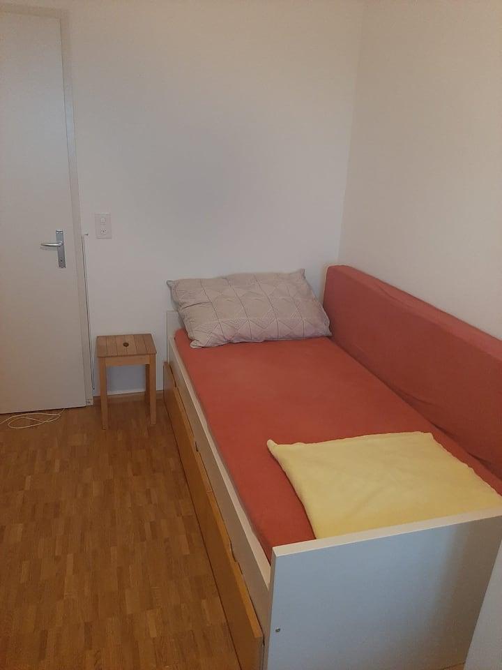 Ruhiges Privatzimmer mit Aussicht über Basel 2