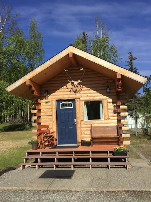 Cabin in May