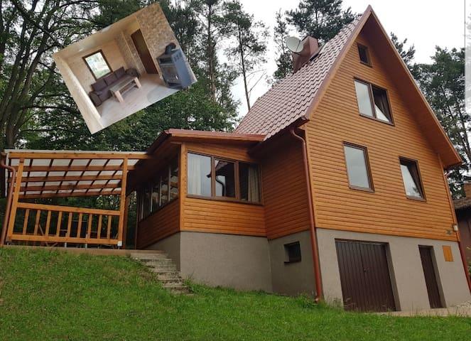 Ferienhaus am Slapy See bei Prag in Tschechien