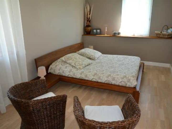 Chambre suite ou famililale au Moulin de Lachaux