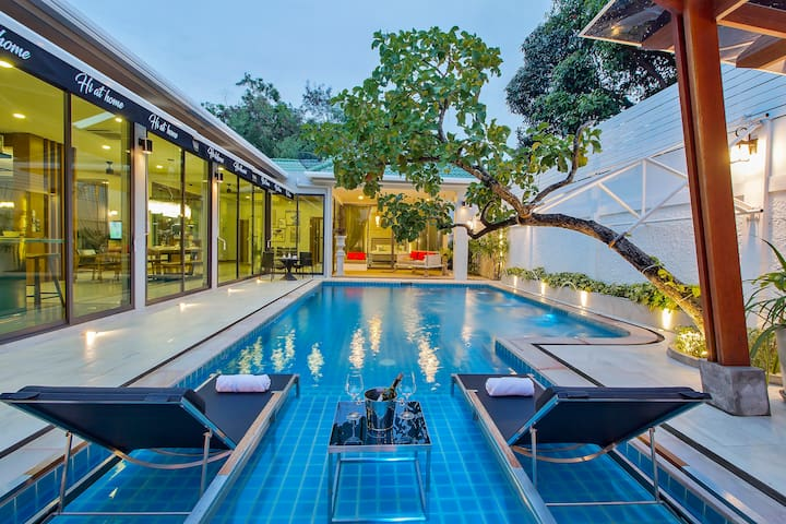 ⭐Daydream Luxury Villa | 4BR w/ Big Pool & Garden