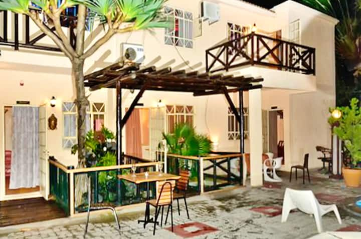 Apartment with 2 bedrooms in Pereyber, with shared pool, furnished terrace and WiFi - 1 km from the beach