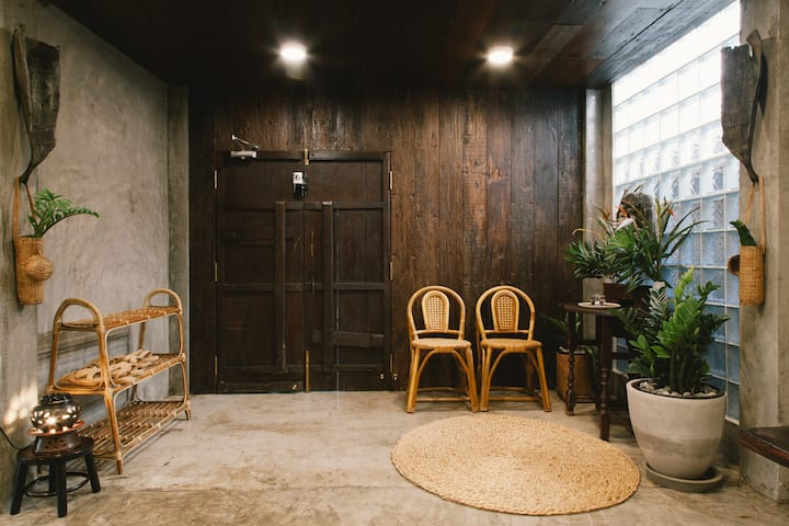 Baan Dhammachard lower deck - บ้านธรรมชาติชั้น 1
