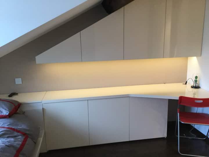 Modern contemporary loft