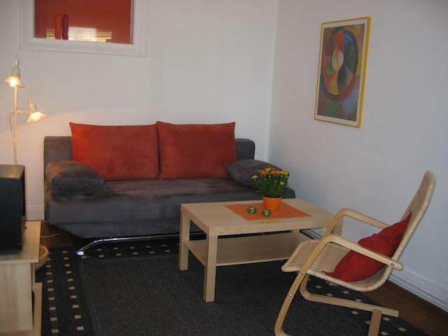 Sonnige Wohnung im Herzen Lübecks - Lübeck - Appartement