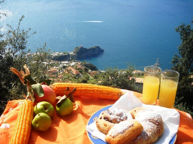 Private Rooms Bed&Breakfast MiraMare AmalfiCoast