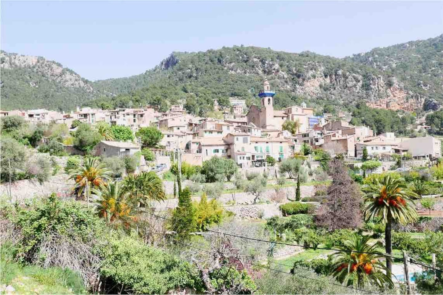 The beautiful village of Valldemossa