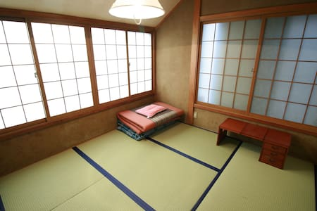 Traditional tatami room with friendly hosts - Itabashi-ku