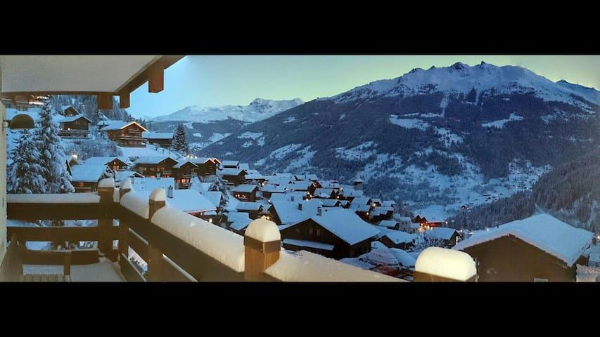 Panorama sur Grimentz - Grimentz - Byt