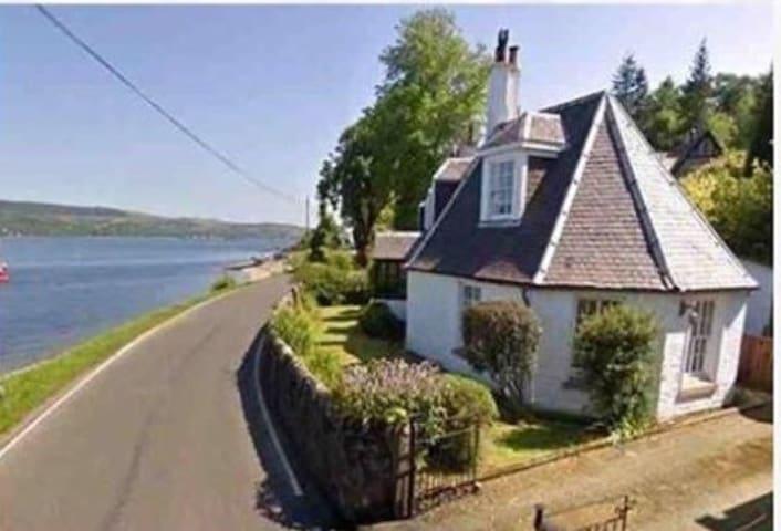 Octagon Cottage 'Glencairn' Ardentinny. Sea views