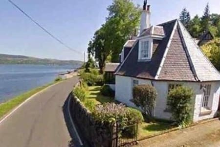 Octagon Cottage 'Glencairn' Ardentinny. Sea views