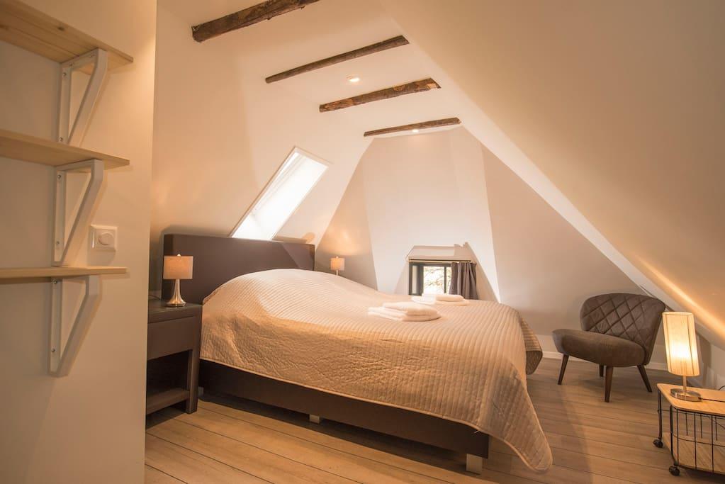 Ensuite bedroom 'tVoorhuus