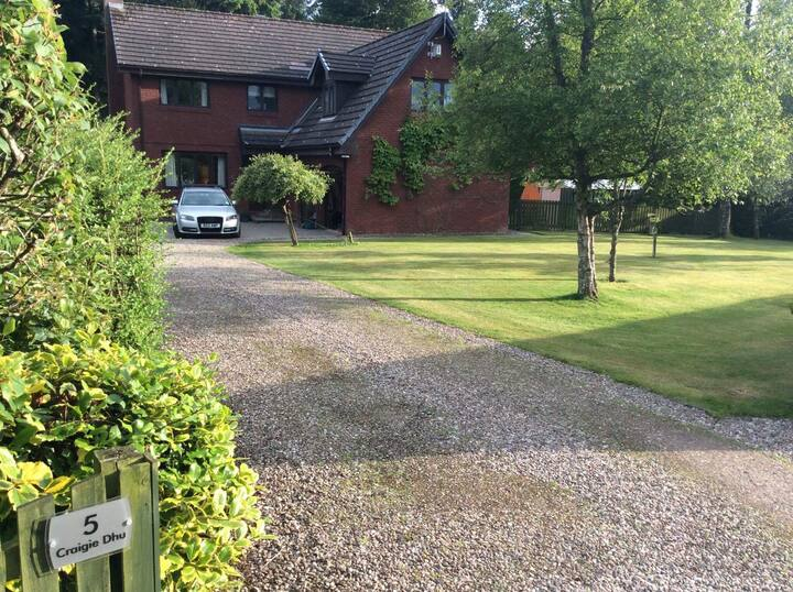 Family and single room within Craigie Dhu B&B