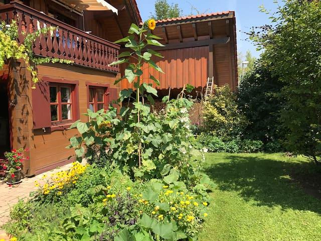 Haus und Garten zum Verweilen und Entspannen