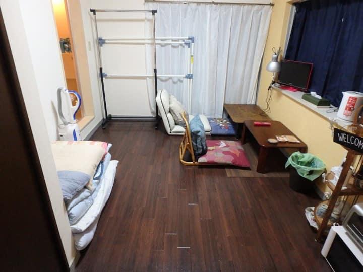 Japanese Apartment at Chiba city