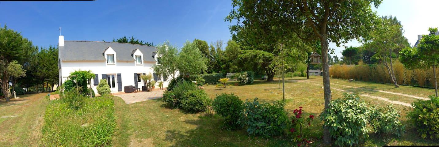 appartement indépendant dans jardin clos - La Turballe - Departamento