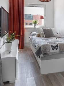 Private and modern room in the heart of Malmö City
