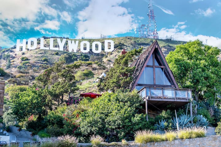 Sleep Under the Iconic Hollywood Sign! Jacuzzi ++