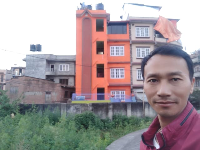 Private Twin Bedroom with breakfast near Thamel
