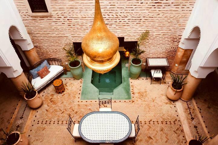 Moroccan passion at Marrakech Room # 5 - Atlas