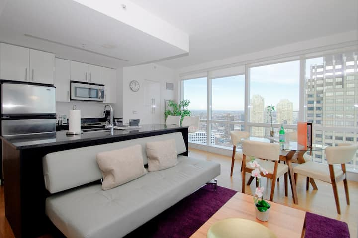Dharma | Jersey City | Enticing 2BR + City Views