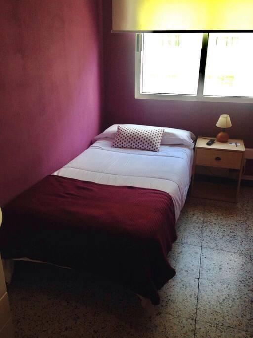 Individual exterior ba o compartido 124 chambres d 39 h tes for Chambre d hote espagne