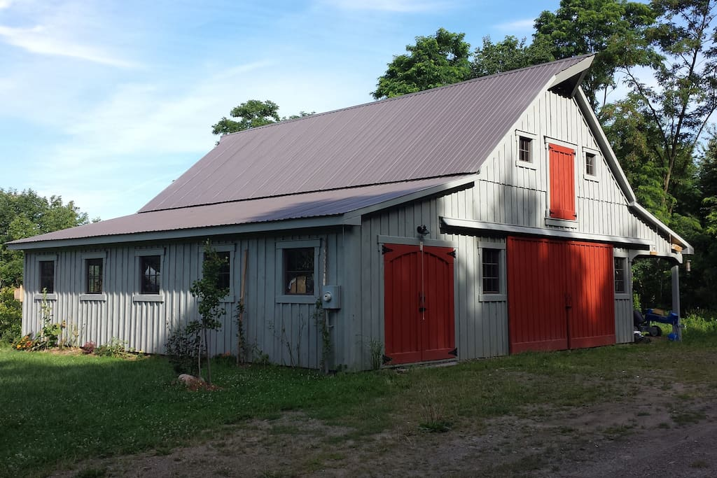 Our barn in summer...