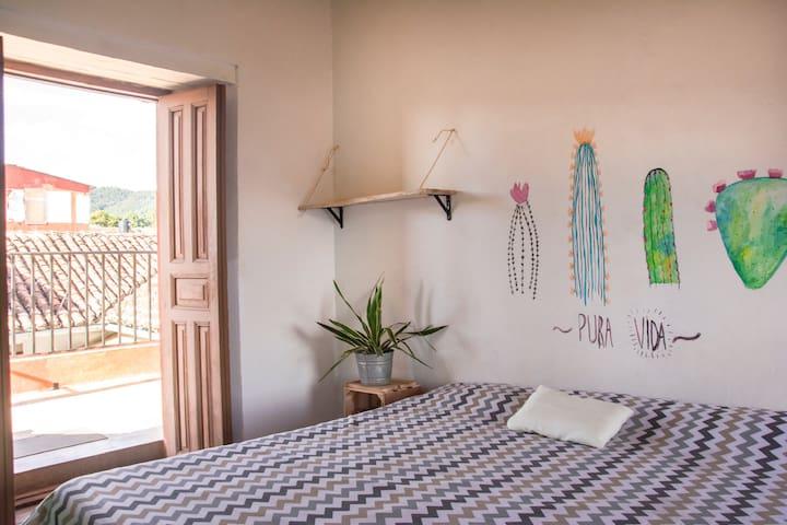 Casa Taller - Dormitorio Lila