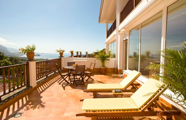 AD San Marcos: Modern with amazing views - Icod de los Vinos - Apartament