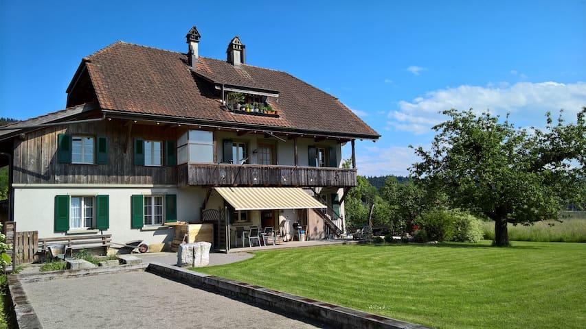 Haus im Grünen - Herbligen - Flat