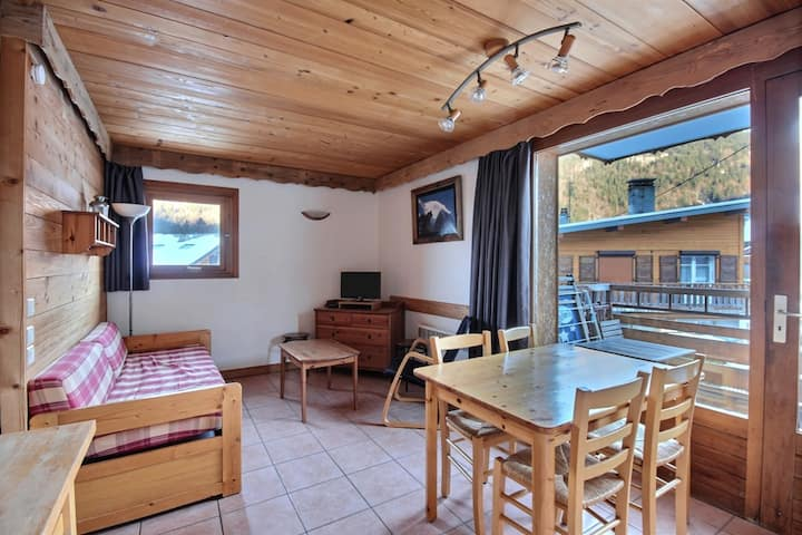 APARTMENT CLOSE TO THE LIFTS - WIFI - MORZINE - 4 PERSONNES - JOUX 3