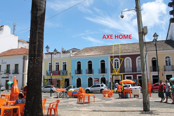 """Bahia Room & Coffee"" - AXE HOME - Pelourinho"