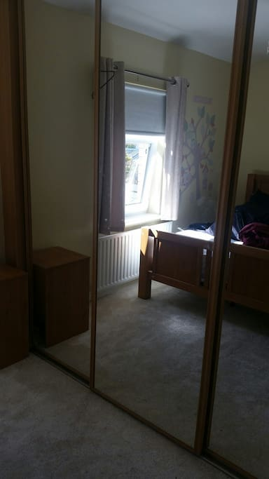 Sliderobe wardrobe space